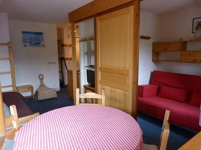 Photo for Les Menuires Residence Bellevue 3 rooms 4 people 2 rooms free wifi