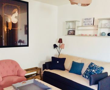 Photo for Pretty 2 rooms of 50m2 hypercentre with wifi, charm of the former