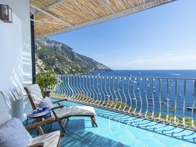 Photo for Casa Stella Marisa - Central Positano with Panoramic Sea Views