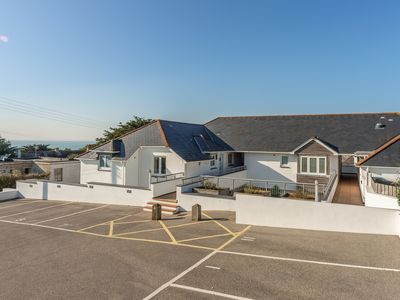 Photo for No 4 Pentire Rocks is a contemporary maisonette situated in New Polzeath.
