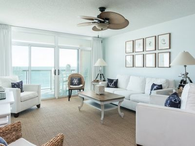 Photo for Gorgeous 3 bedroom condo overlooking the ocean! | Blue Water Keyes -  804