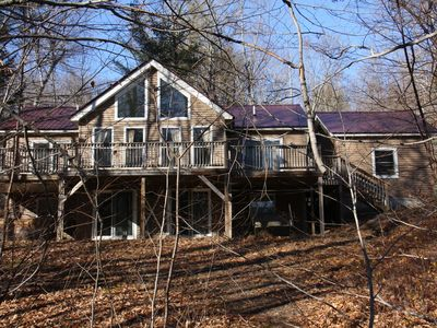 Photo for Spacious Chalet Style Vacation Home In The White Mountain Region. Sleeps 10