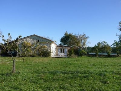 Photo for stone farmhouse on one level 3 c. with private pool