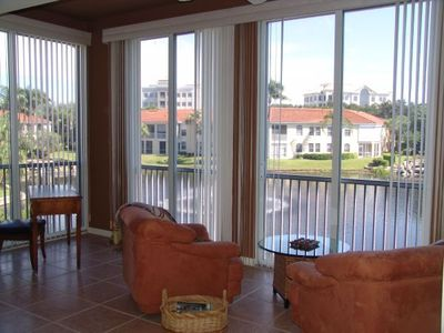Great room/lanai view