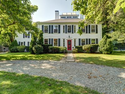 Photo for Historic home w/ outdoor spaces and tennis nearby - dogs OK!