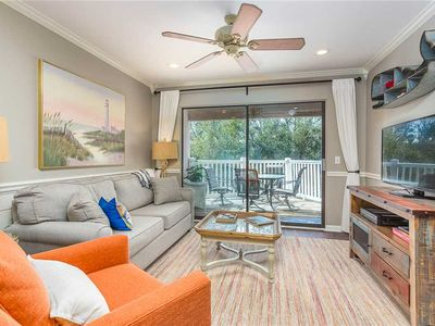 Photo for Oceanfront Condominium w/Balcony, Pool and Private Boardwalk to Beach