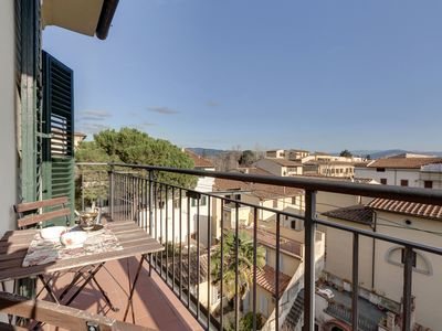 Photo for Capponcina apartment in San Marco with WiFi, air conditioning, balcony & lift.