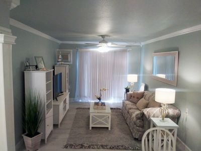 Photo for 1 Bedroom 1 Bath Condo 1st Floor - Over 55yo - 20 Minutes to Beach