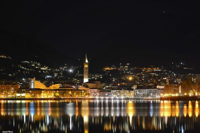 Lecco City by night
