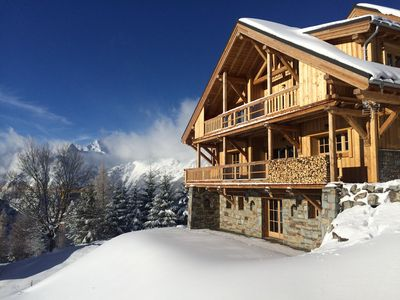 Photo for New 2018! Chalet super standing 5 * ski boot prices