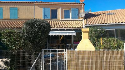 Photo for House PORTIRAGNES Beach - air conditioning swimming pool - HERAULT - VIAS AGDE VALRAS