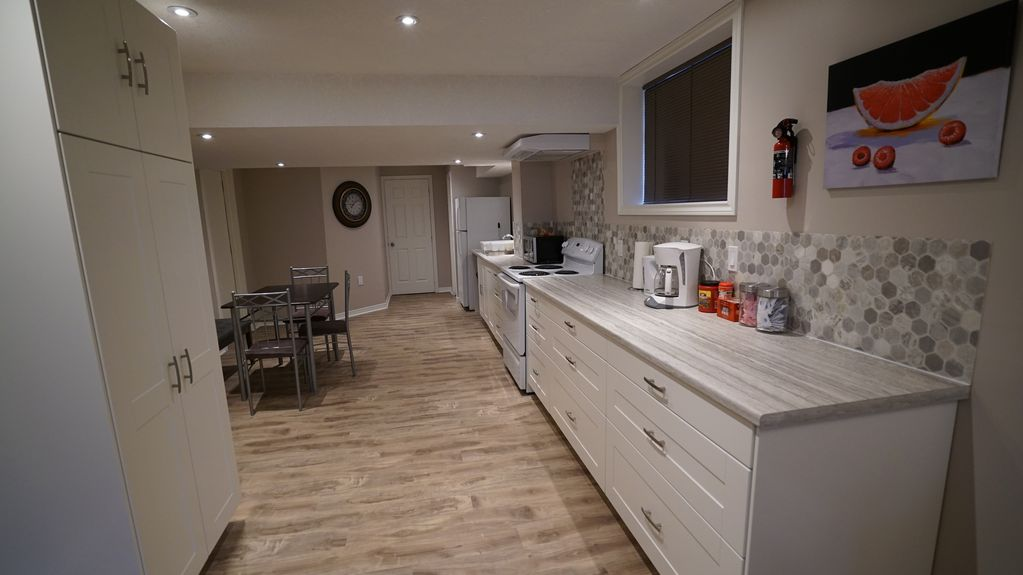 Fully Private Modern Walkout Basement Apartment Nestled In