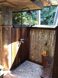 Private Shower on Lanai