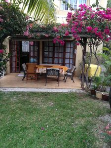 Photo for Luxury Villa with Private Garden & heated pool