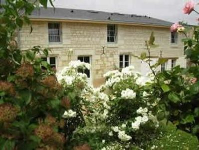 Photo for Tastefully furnished 4 star gîte in historical village of Fontevraud l'Abbaye