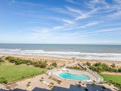 Photo for 801S: Updated, modern 2BR Sea Colony oceanfront condo! Beach, pools, tennis ...