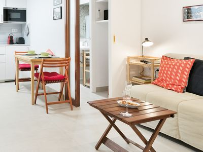 Photo for Directly at the Beach Apartment in Barceloneta