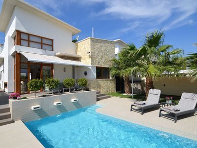 Photo for Modern, charming, furnished villa with private swimming pool near Ciudad Quesada
