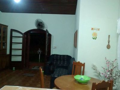 Photo for House in Caraguatatuba 30 meters from Praia Tabatinga with Air Conditioning