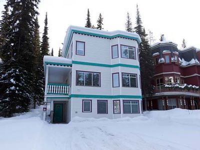 Photo for Fabulous Four Bedroom Home - Ski In/ski Out - 3 Minute Flat Walk To The Village