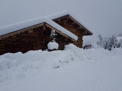 Photo for Chalet Rondin for rent 100m2