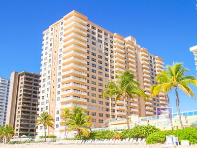 Photo for Luxury Beach Condo direct on the Beach of Fort Lauderdale   6 months min