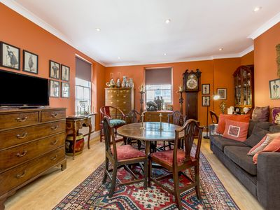 Photo for Experience London from this A/C Mayfair property with hand selected antiques