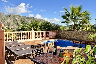 Photo for 3 bedroom Villa, sleeps 6 in Nerja with Pool, Air Con and WiFi