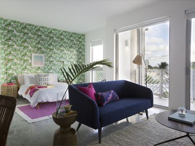 Photo for Sonder | Biscayne | Bright Studio + Balcony