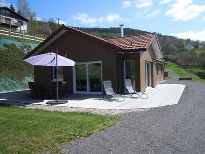 Photo for Chalet single storey 130m2 any comfort without vis-à-vis, suberbe valley views