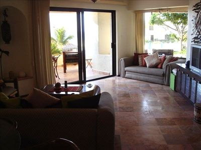 Photo for Terrasol Luxury Two Bed-Two Bath Pacific Oceanfront and Poolside - Owner Managed