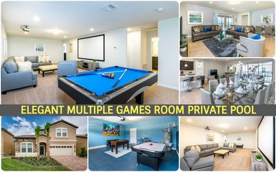 Photo for ***Family Friendly & Happy Kids Large Pool Home in water Park Resort***