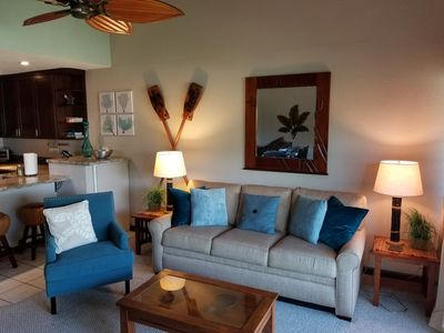Photo for SPRING SPECIALS thru June! Beach Inspired, 2 Bed/2 Bath!  2 min walk to Beach!