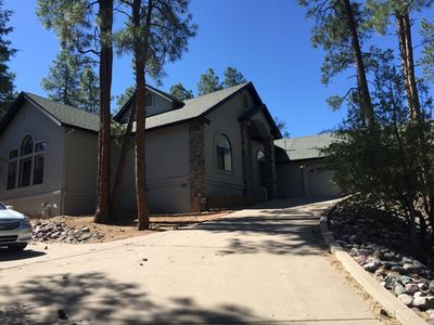 The Elk House!  Custom Home In The Pines!