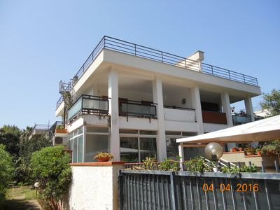 Photo for first floor house with garden just five minutes from the sea of ​​Mondello (PA).