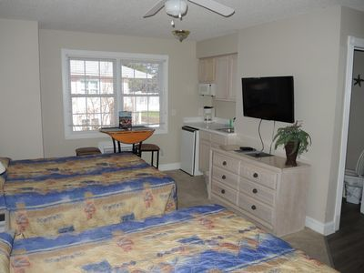 Photo for Coming to the beach a couple days early?  Check out this affordable hotel style unit! (407L)