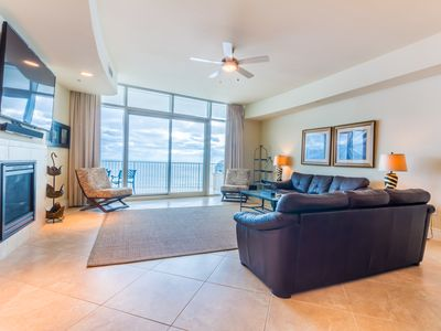 Photo for Turquoise Place Resort Unit D1108 - Spacious & Luxurious Gulf Front Condo!