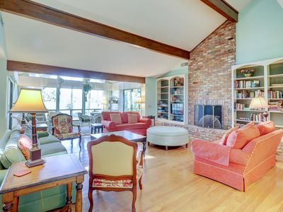 Photo for Charming house w/ fantastic golf course views - dogs welcome!