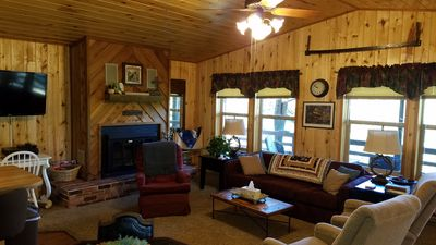 Photo for Stay 3 nights, 4th night free!  Peaceful mountain cabin, a great getaway!