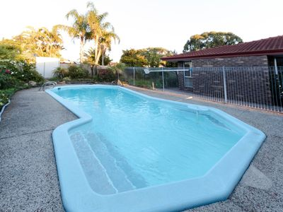 Photo for Cosy Lodge Leeming with a swimming pool in central location