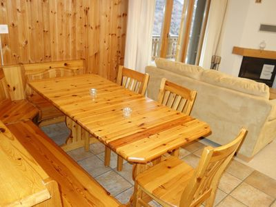 Photo for 3* - 3-room-apartment for 4 people located at about 800m from the lift in a calm and sunny environme