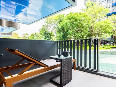 Photo for Prime Area/Amazing 1BR Pool Access, Patong Beach/Phuket