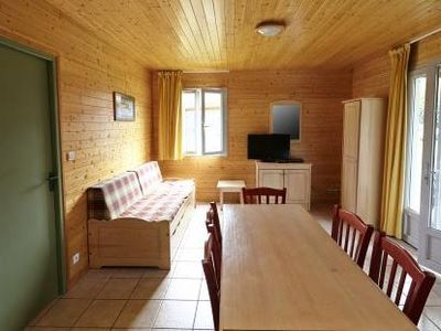 Photo for Terres de France - Natura Resort Pescalis - 3 room chalet for 4 people