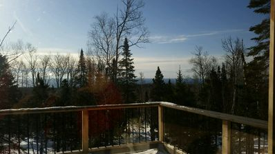 Lutsen Little Bear Lodge - Secluded Lutsen Mountain Cabin With Superior View