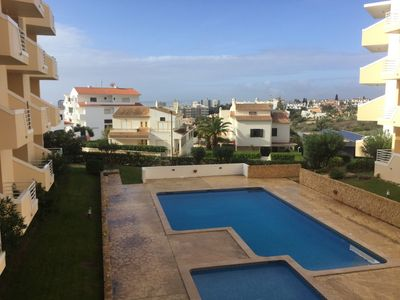 Photo for 2BED  2 BATHROOM 0NE WITH WALK IN SHOWER.BALCONY OVERLOOKING POOL AND  SEA VIEW.