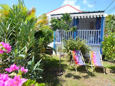 Photo for charming cottage 500m from the beach