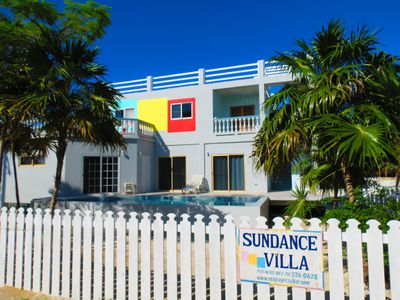 Photo for 2-BR / 3-BA @ Sundance Villa + Swimming Pool, Caye Caulker, Belize