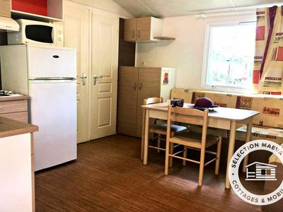 Photo for Camping Le Florida **** - Maeva Camping - Mobile Home Family 3 Rooms 4 Pers Air Conditioned
