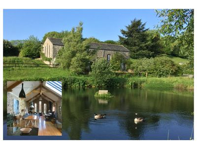 Photo for Luxurious self catering Barn set in Idylic South Hams countryside near Coast.