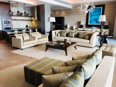 Luxurious and Spacious living area of The Residence.